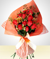 Regalos Corporativos - Bouquet de Doce Rosas