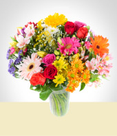 Flores - Bouquet Mixto